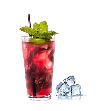 Mit den Mabura Sirups Cocktails mischen