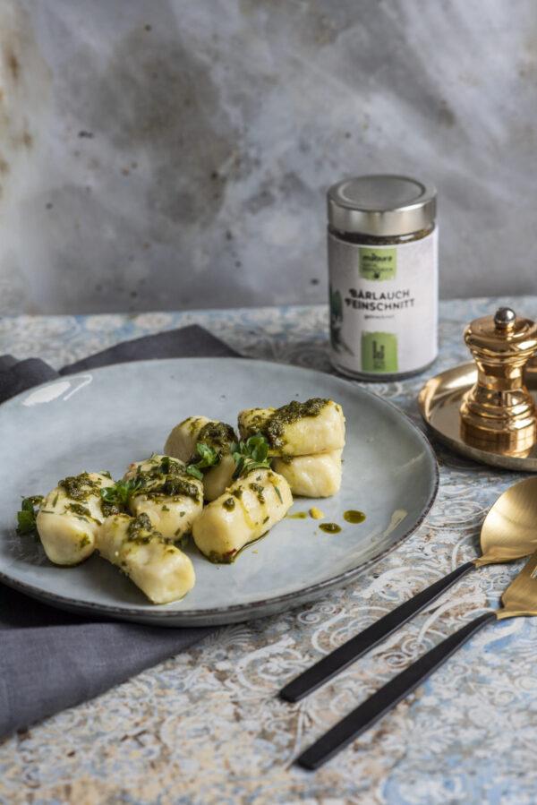Bärlauch-Pesto zu probieren