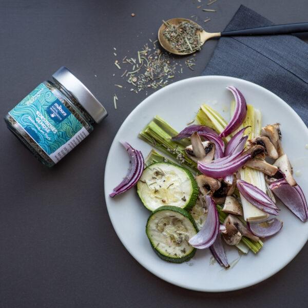 Mit Mabura BIO Gewürz Korsisches Gemüse kochen