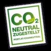 Mabura wird CO2 neutral zugestellt
