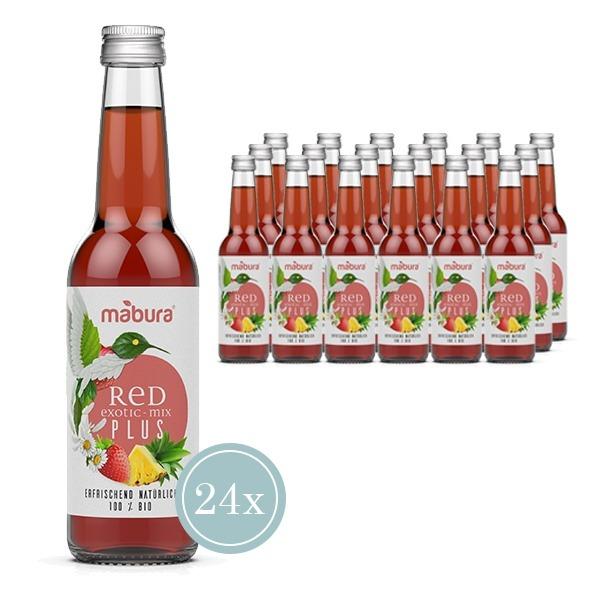 RED Exotic-Mix Plus BIO 24er Box