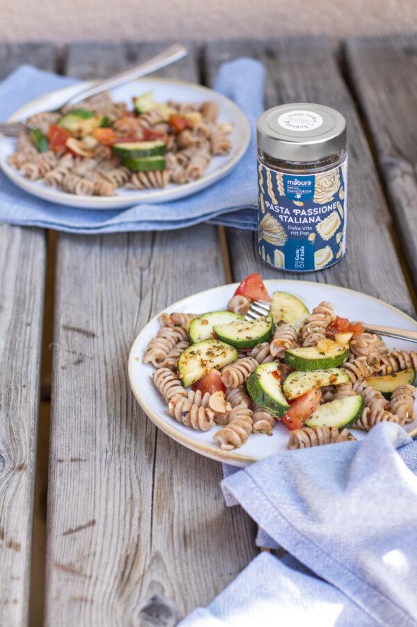 Zucchini Pasta für dein Mabura Moment