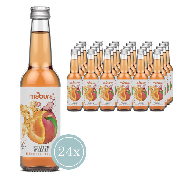 Mabura BIO Fruchtgetränk Pfirsich Marille
