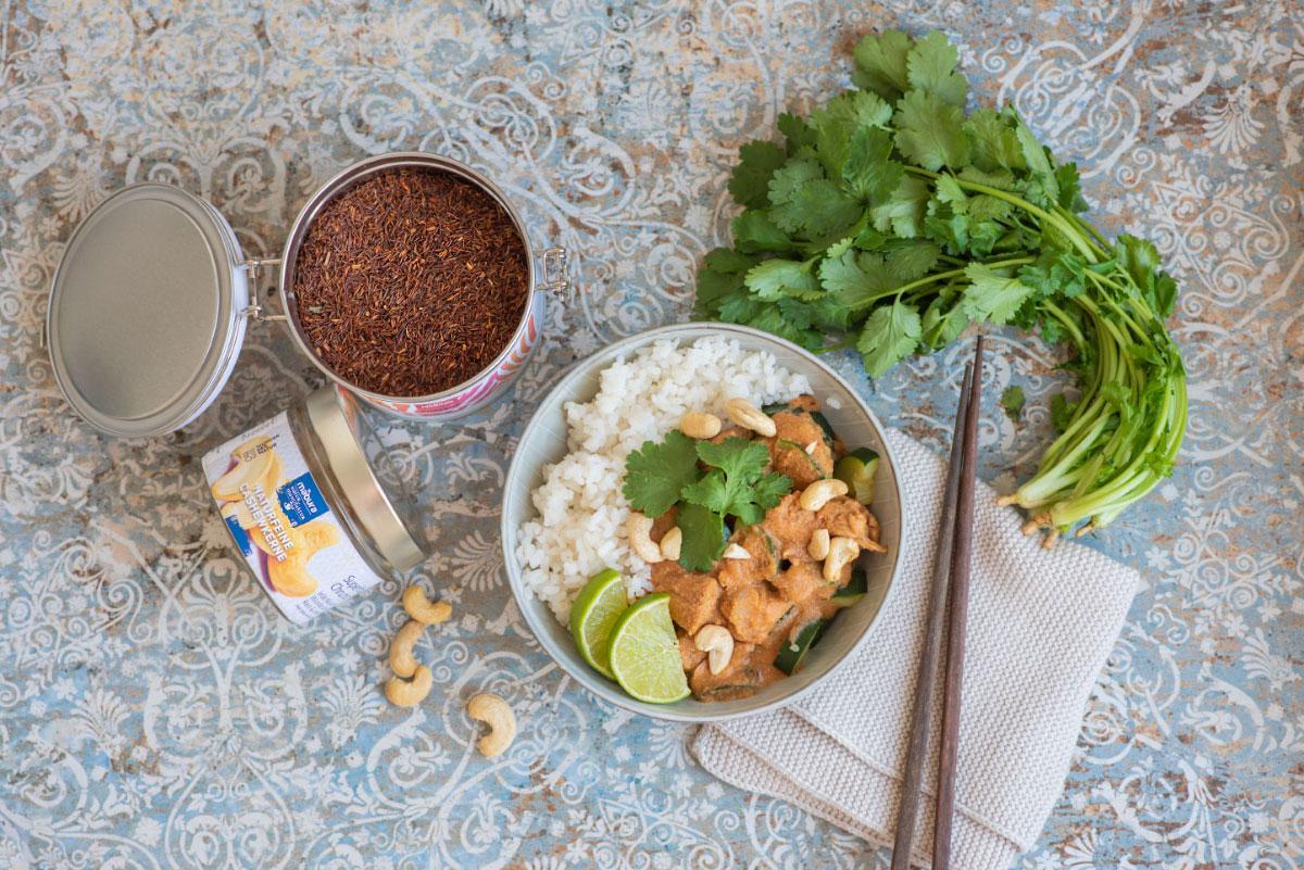 Mabura Rezept Rooibos Curry mit Huhn