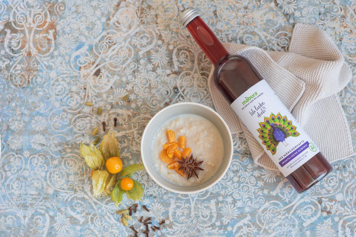 Mabura Rezept Orientalischer Milchreis