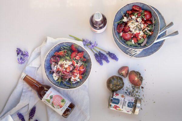 Fetasalat mit Mabura schmeckt besser